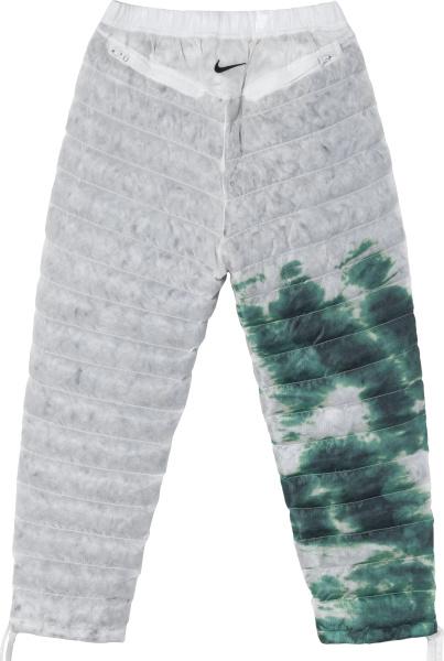 Nike X Stussy Grey Green Insulated Pants