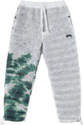 Nike X Stussy Grey Tie Dye Puffer Pants