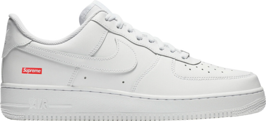 Nike X Supreme Air Force 1s