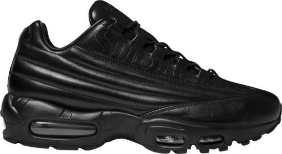 Nike X Supreme Air Max 95 Lux Black