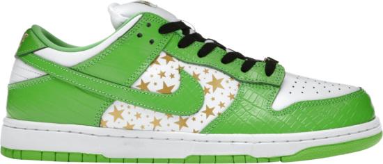 Nike X Supreme Dunk Low Mean Green
