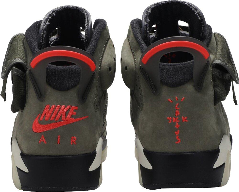 Nike X Travis Scott Olive Sneakers