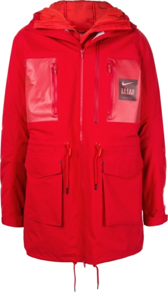 Nike X Undercover Choas Balance Red Jacket