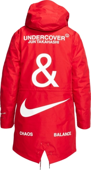Nike X Undercover Red Parka