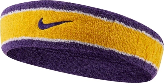 Nike Yellow Purple Headband
