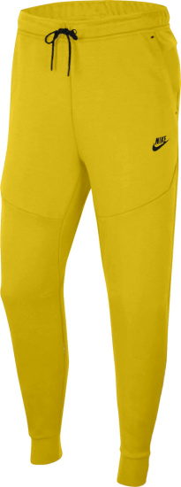 Nike Yellow Sportswear Tech Joggers