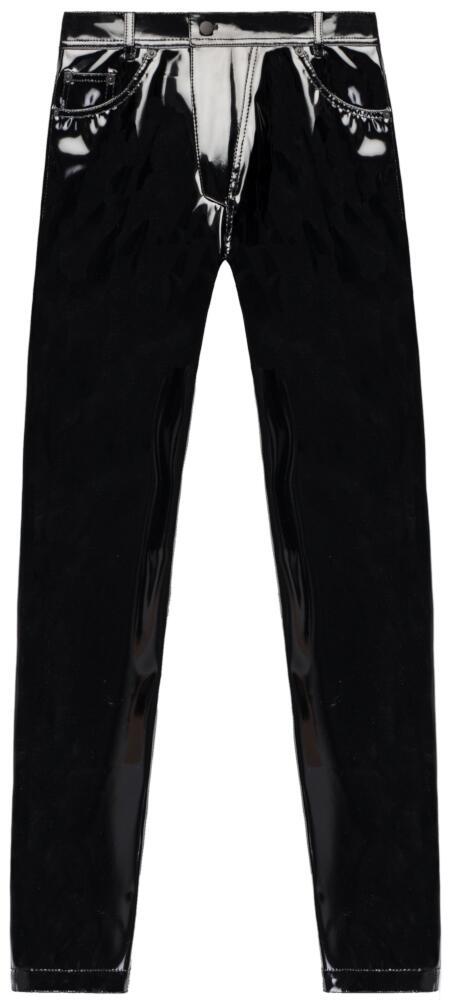 Nomenklatura Black Latex Pants