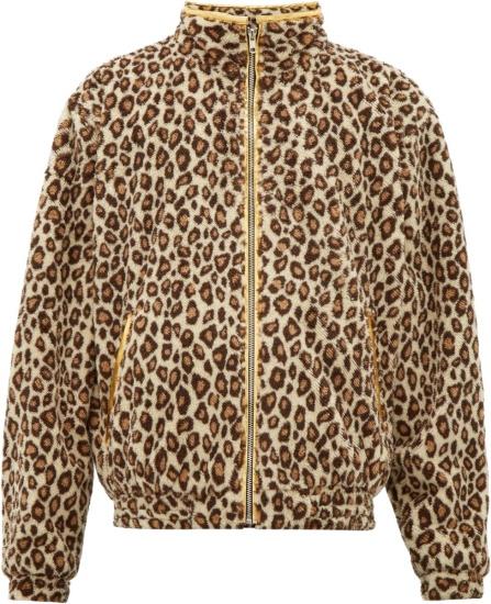 Noon Goons Leopard Fleece Jacket