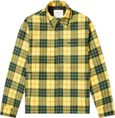 Noon Goons Yellow Check Jacket