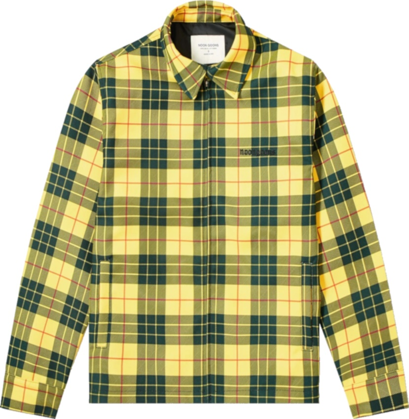 Noon Goons Yellow Check Jacket