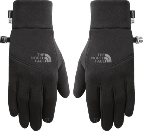 North Face Black Etip Gloves