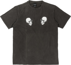 Number Nine Vintage The Clash Double Skull T Shirt