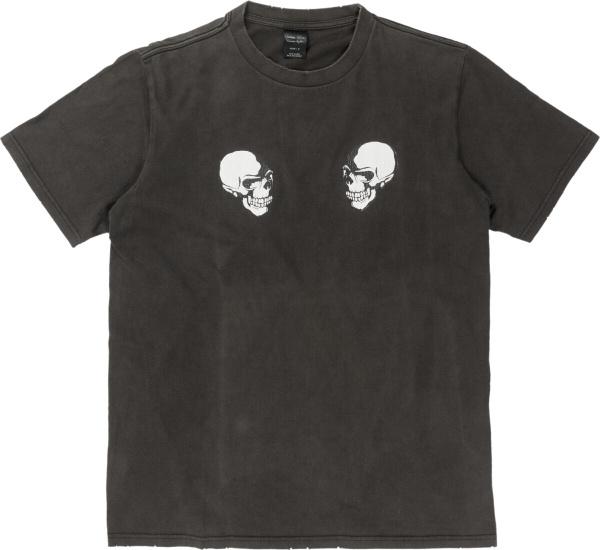 Number Nine Vintage The Clash Double Skull T Shirt
