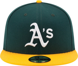 Oakland Athletics Green Yellow X G Eazy Hat