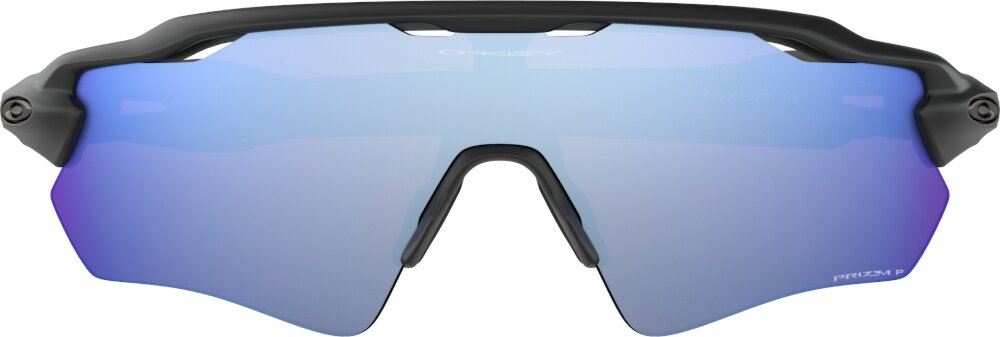 Oakley Radar® Ev Path®matte Black And Blue Sunglasses