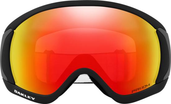Oakley Black Orange Torch Snow Goggles