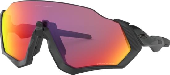 Oakley Flight Jacket Sunglasses With Black Frames
