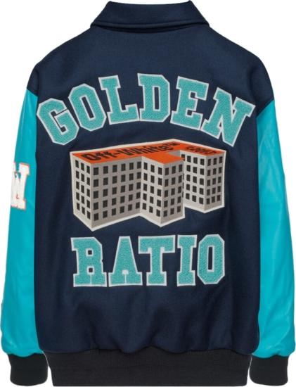 Off White 00 Patch Varsity Jacket