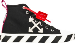 Black Arrow High-Top Sneakers
