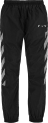 Off White Black And Grey Diag Trackpants