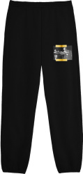 Off White Black And Yellow Caravaggio Painting Sweatpants