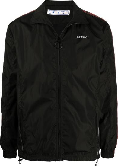 Off White Black Bookish Track Jacket