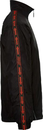 Off White Black Bookish Zip Jacket