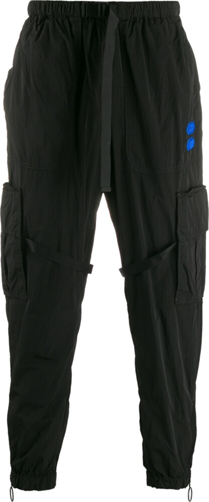 Off White Black Cargo Sweatpants