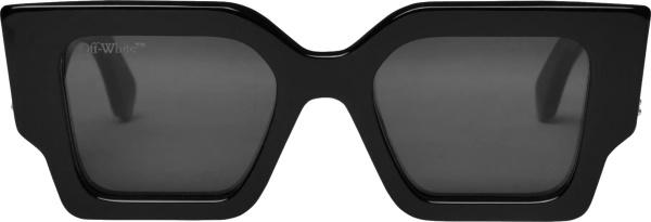 Off White Black Catalina Sunglasses