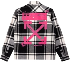 Black & White Flannel Shirt
