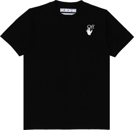 Off White Black Fuchsia Double Arrow Marker T Shirt