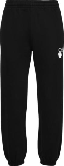 Off White Black Off Hand Marker Diag Sweatpants