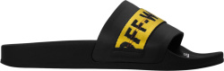 Black & Yellow 'Industrial' Slides