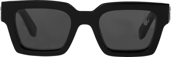 Off White Black Square Sunglasses