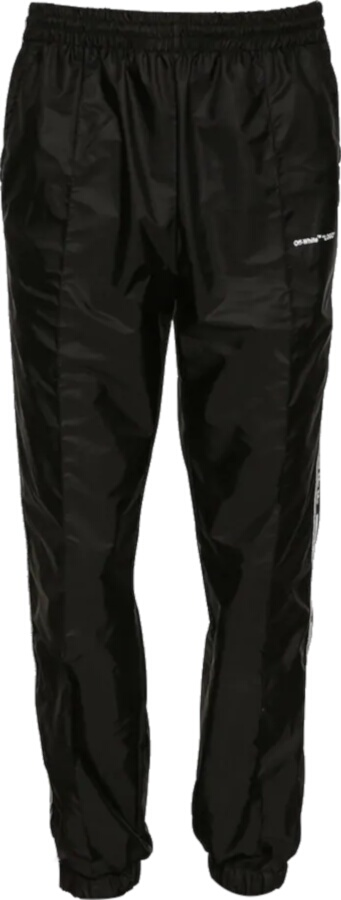 Off White Black Trackpants