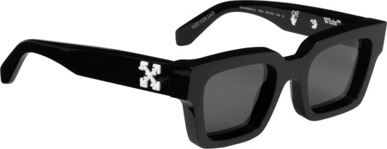 Off White Black Virgil Sunglasses