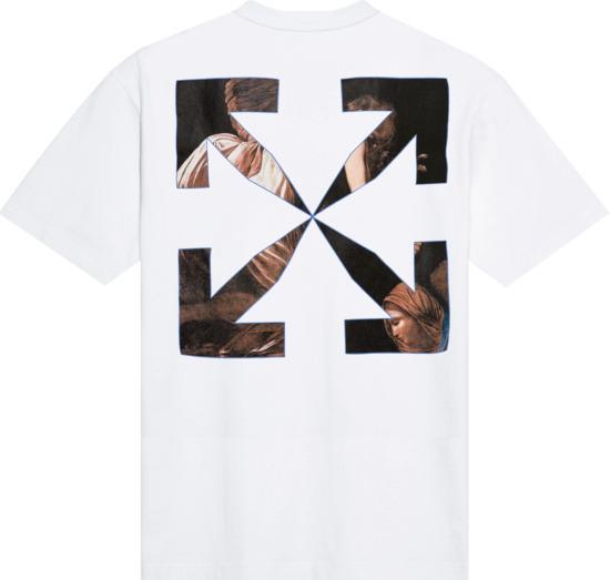 Off White Caravaggio Angel T Shirt