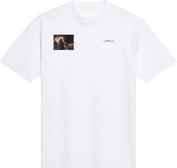Off White Caravaggio Angel White Short Sleeve T Shirt