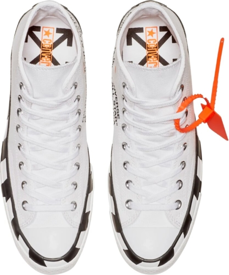 Off White Chuck Taylor Icon Sneakers