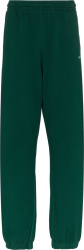 Off White Green Logo Arrow Sweatpants