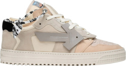 Off White Off Court 3 Low Top White And Beige