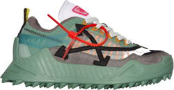 Off White Pale Green Odsy 1000 Sneakers
