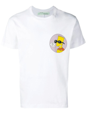 90ea9861 Off White Public Enemy Bart Simpson T Shirt