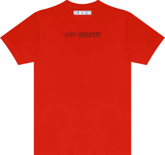 Off White Red Pascal T Shirt