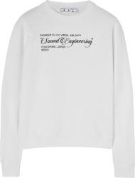 Off White Sound Engineer Sweatshirt