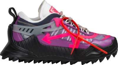 Off White Violet Fuschia Odsy 1000 Sneakers