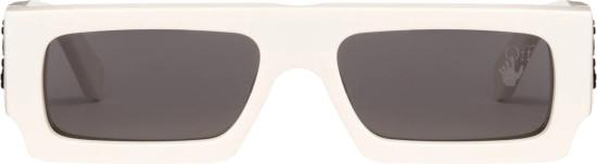 Off White White Eazy Sunglasses