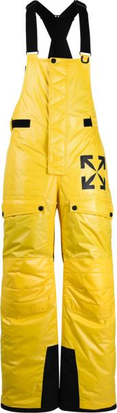 Off White Yellow Ski Pants