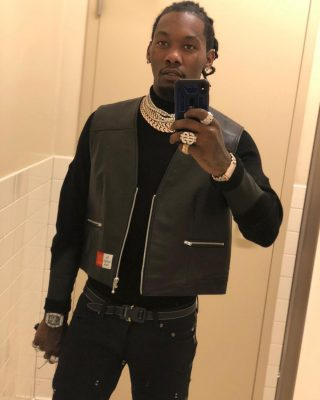 Offset Instagram 3 26 19 Incorporated Style Cover Image Wearing Dior Belt And Martine Rose Best