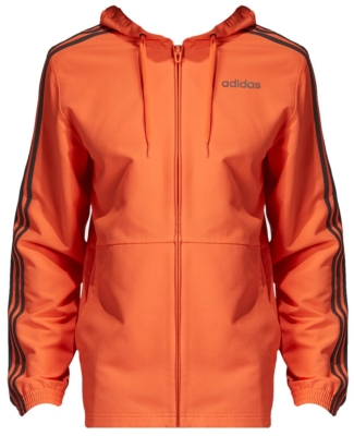 Orange Adidas Essentials Windbreaker Worn By Joyner Lucas